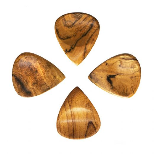 Groovy Tones Indian Teak 4 Guitar Picks